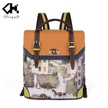The latest design brand backpack bag kids school bag wholesale
