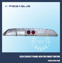 Rear exhaust pannel new type for Smart fortwo W451