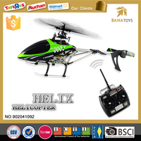 Newest kids toys powerful big 4ch single blade rc helicopter free
