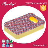 2015 Factory wholesale suspensibility Household Cleaning Kitchen Tool Scouring Pad KC-A-011