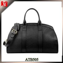 hotsale luxury stylish style men leather travel bag gym duffel bag