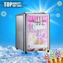 STB-BQ316-13 2 flavors + 1 mix table top frozen yogurt machine for sale
