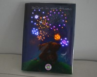 Alibaba LED Light Paper Diary For Student Gift