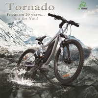 Tornado, NEW ARRIVAL! electric mountain bike with high quality frame