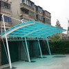 Custom Made Outdoor Prefab Metal Bicycle Canopy