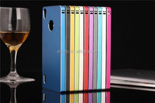 New Arrival 2 in 1 Cover skin sticker for huawei ascend p7 For New Mobile Phone