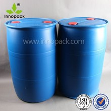 HDPE blue 55 gallon plastic drum for chemicals/fuel packing