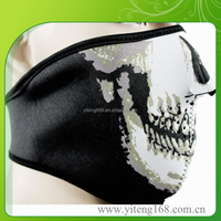 China Breathable Half Face Mask Neoprene Tape Thermometer Face Cover Face Mask