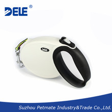 2015 New design large retractable pet dog leash with 5m tape for dog up to 40kg provided by professional pet manufacturer
