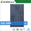 lowest price and good quality polycrystalline solar panel 240w solar modules pv panel
