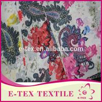 China supplier High quality Fashion Plain digital printed lining