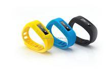 FASHION CHARMING 3d sensor bluetooth wristband pedometer,activity track sleep monitor