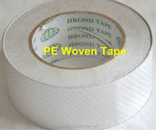 High Viscosity Strong Holding Self Adhesive PE Woven fabricTape From China Factory
