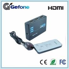 OEM/ODM 2 Years Warranty HDMI Switch 3x1 1.4 Plastic HDMI Switch 3 to 1 4Kx2K