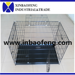 strong metal cage for dog