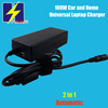 90W-100W Automatic Universal Car Charger for Home and Car use 15V-20V for Brand Laptops
