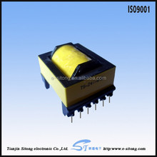 eer28 vertical transformer with ferrite core