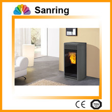 with remote control wood pellet stove
