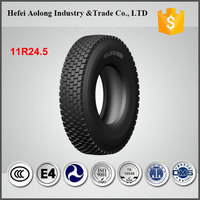 China famous brand hot sale new truck tyre 11r 24.5