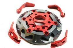 SEP SMAX155 Motorcycle racing fan cover tapa de ventilador para motocicleta