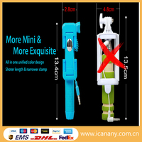 Fashion Mini Monopod,Cable Take Pole Selfie Stick,Monopod Selfie-stick