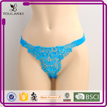 Made in China Graceful Lovely Girl Spandex/Polyester Sexy G String Panty Wearing Girls