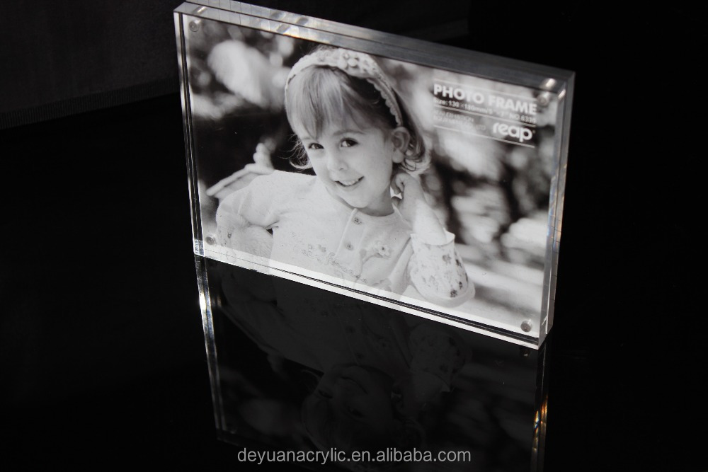 high quality picture photo frame/clear acrylic photo frame/sexy funia photo frame wholesale