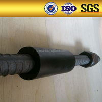 Metal Building Materials Parallel Thread Rebar Coupler