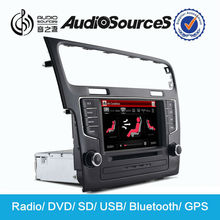 Car dvd player with gps/radio/bluetooth/USB/SD etc functions for Volkswagen Golf 7 2012-2014