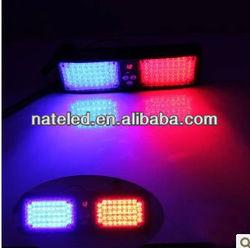Hotsaling LED Visor Blue and Red Warning Strobe Flashing Lights Police light