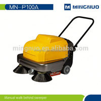 Convenient self-driving automatic double brushes floor cleaning low noise floor cleaning machine