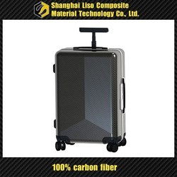 high-end luggage box eminent verage suitcase with wheel