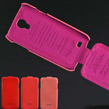 flip cover case for samsung galaxy s4, luxury leather case for galaxy s4
