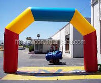 Colorfull inflatable arches air tight