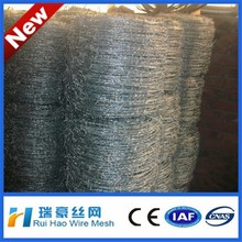barbed wire length per roll /barbed wire price per ton