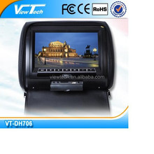 Hot sell! 7'car pillow tft lcd monitor