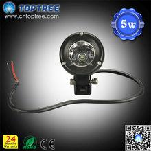 5W IP67 CREE 9-32V Led Light Bar Moto Headlight