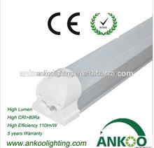 etl high level t5 integrated led lamp led tube light 4ft