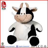 Wholesale Best Selling Stuffed Farm Animal Plush Cow Baby Toy