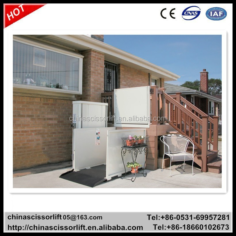 Used residential elevators for sale outdoor disabled lift for House elevator for sale