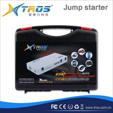 Factory wholesale emergency start power/SOS led light portable car jump starter mini tire air pumps