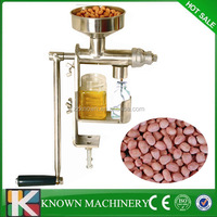 Small easy operation stainless steel seed oil manual press,small oil press