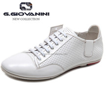 2014 for fashion Open back cowhide white genuine leather sneaker shoes no brand