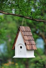 ECO-FRIENDLY WOODEN BIRD HOUSE PET HOUSE ALS-6110