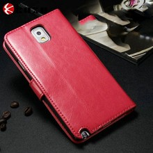 Lovely women leather cell phone case for samsung galaxy A8