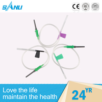 Wholesale one-off hunan disposable vacuum blood collection needles