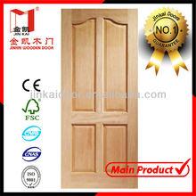 Natural Solid wooden doors-- panel meranti doors