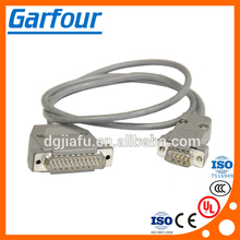 Cable for diagnostic tester for Automotive/ d-sub 9 pin cable assembly