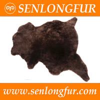 Elegant Sheepskin Genuine Leather Scraps with wool