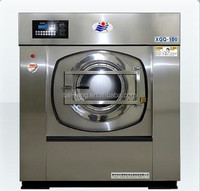 full automatic washer dryer steam for hotel, hospial, laundry